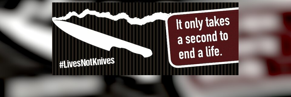 Banner image for #LivesNotKnives