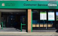 Customer Service Centre Front