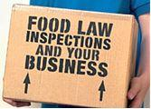 Food safety services - food inspections box 1