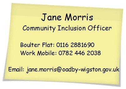 Jane Morris Contact Details Image
