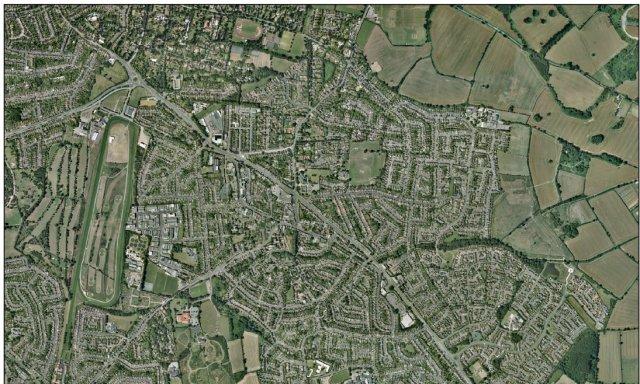 Oadby Aerial Photograph