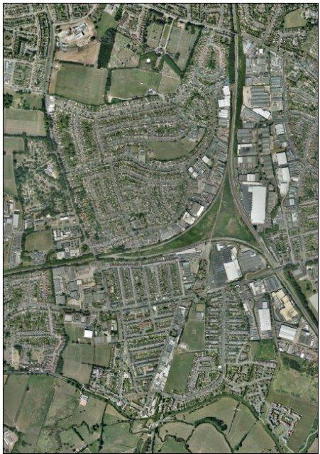 South Wigston Aerial Photograph