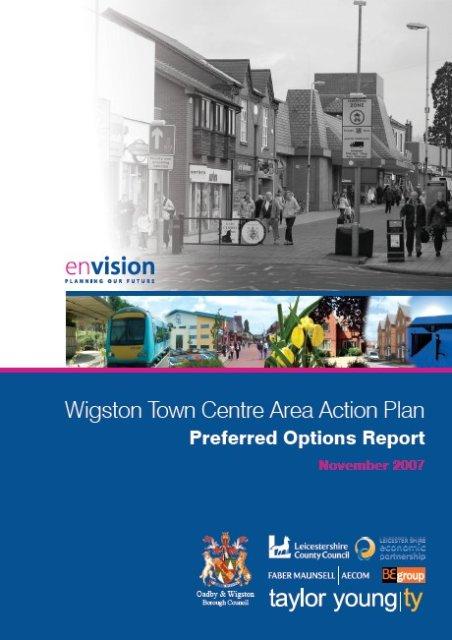 Wigston Town Masterplan Preferred Options