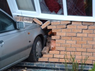 A Vehicle Impact to a Building