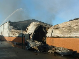 Building Collapses During Fire