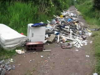 Enviro crime - fly tipping