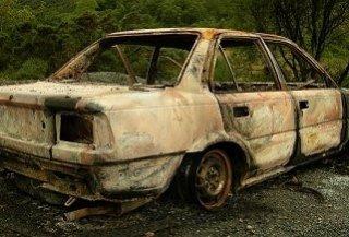 Nuisance vehicles - abandoned car 1